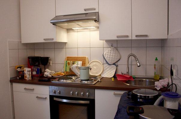 Die Küche unserer Tagespflege in Braunschweig.