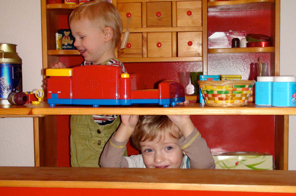 Kindertagespflege in Braunschweig: Offline-Shopping im Kaufmannsladen