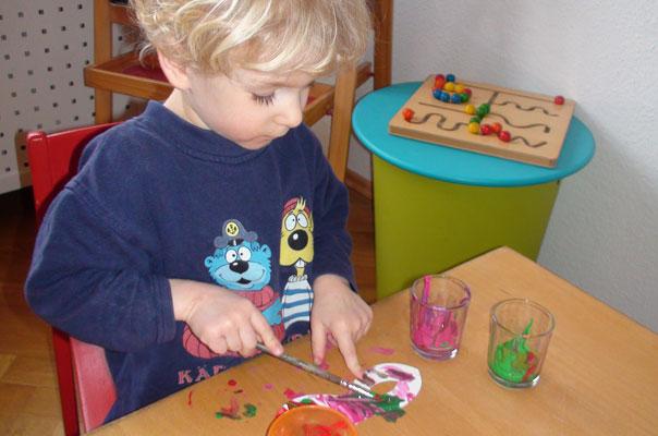 Kindertagespflege Braunschweig: Faschingsvorbereitungen bei TiQ!