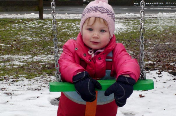 Kindertagespflege Braunschweig: Auf dem Spielplatz in Querum mit TiQ!