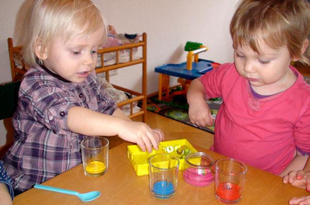 Kindertagespflege Braunschweig: Murmelbilder bei TiQ! Tagespflege in Querum
